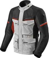 Rev'it! Jacket Outback 3 Silver/Red