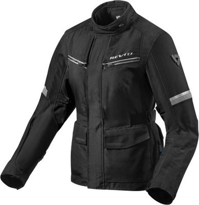 Rev'it! Jacket Outback 3 Ladies Black-Silver Lady 38