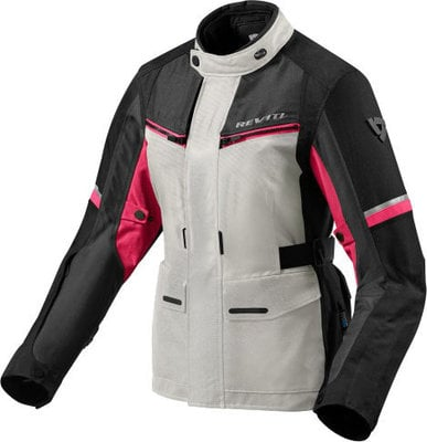Rev'it! Jacket Outback 3 Ladies Silver-Fuchsia Lady 40