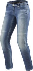 Rev'it! Jeans Westwood Ladies SF Light Blue Used