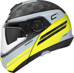 Schuberth C4 Pro Carbon Tempest Yellow