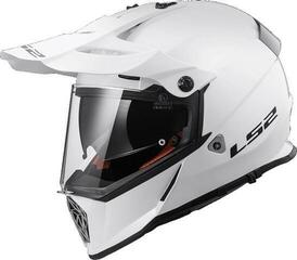 LS2 MX436 Pioneer Gloss White