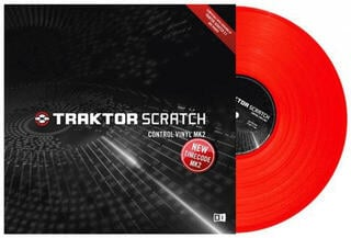 Native Instruments Traktor Scratch Pro Control Vinyl Red MKII