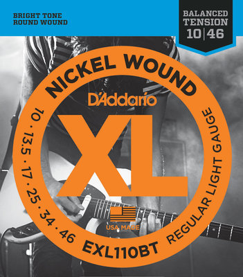 D'Addario EXL-110 Electric guitar set XL REG LITE