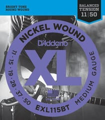 D'Addario EXL-115 BT Electric guitar set XL MEDIUM