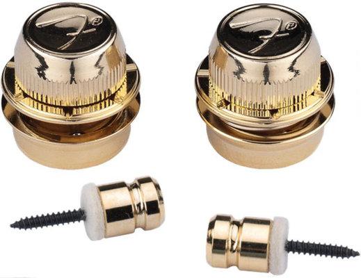 Fender F Strap Locks Gold
