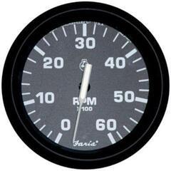 Faria Otáčkoměr 0-6000 RPM - černý