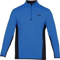 Under Armour Reactor Hybrid 1/2 Zip Mens Sweater Midnight Blue/Platinum L
