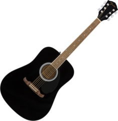 Fender FA-125 Dreadnought Acoustic WN Black