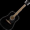 Fender FA-125 Dreadnought Acoustic WN Black