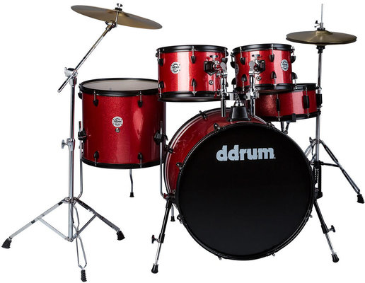 DDRUM D2P Series 5-Set Red Sparkle