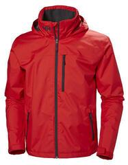 Helly Hansen Crew Hooded Jacket Alert Red XL