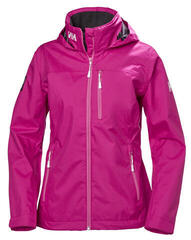 Helly Hansen W Crew Hooded Jacket Dragon Fruit