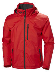 Helly Hansen Crew Hooded Jacket Alert Red L
