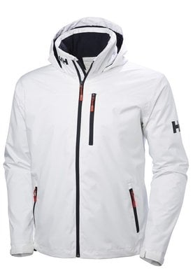 Helly Hansen Crew Hooded Midlayer Jacket White XXXXL
