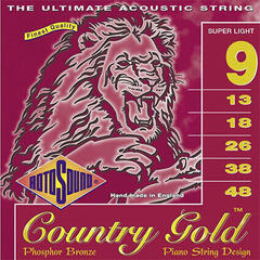 Rotosound CG9 Country Gold Super Light