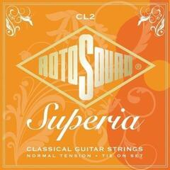 Rotosound CL2 Superia Nylon Silver Orange