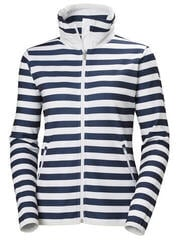 Helly Hansen W Naiad Fleece Jacket Evening Blue Stripe
