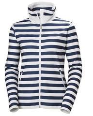 Helly Hansen W Naiad Fleece Jacket Evening Blue Stripe