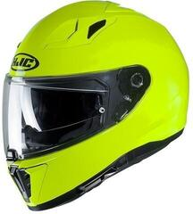 HJC i70 Solid Fluorescent Green
