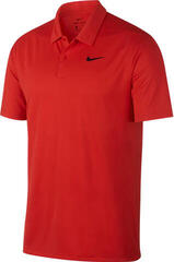 Nike Dry Essential Solid Pánska Polo Košeľa Habanero Red/Black