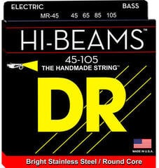 DR Strings MR 45 Hi-Beam Electric Bass Strings (Medium, 45-105)