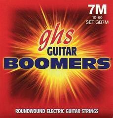 GHS GB 7 M Electric Boomers 7-String Set - Medium