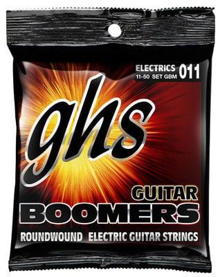 GHS Boomers Low Tune Electric Guitar Medium .011-.050
