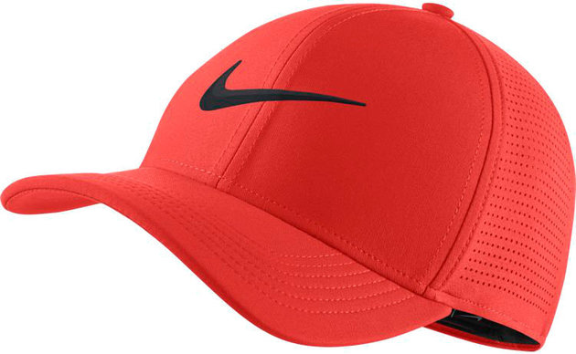 Nike Unisex Arobill CLC99 Cap Perf. XS/S - Habanero Red/Anthrac.