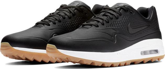 Nike Air Max 1G Mens Golf Shoes Black/Black US 10