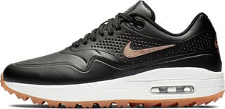 Nike Air Max 1G Womens Golf Shoes Black/Metallic Red