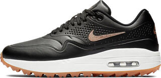 Nike Air Max 1G Womens Golf Shoes Black/Metallic Red