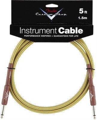 Fender Custom Shop Performance Tweed cable 1,5m