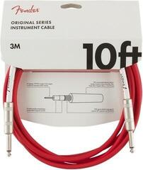 Fender Original Series Instrument Cable 3 m Fiesta Red
