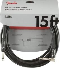 Fender Professional Series Instrument Cables S/A 4,5 m Black