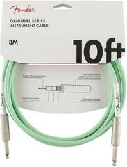 Fender Original Series Instrument Cable Zelena/Ravni - Ravni