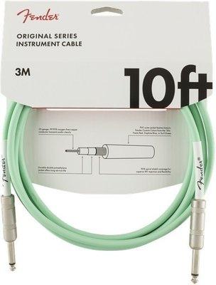 Fender Original Series Instrument Cable 3 m Surf Green