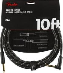 Fender Deluxe Series Instrument Cable S/A 3 m Black Tweed