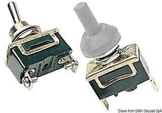 Osculati Toggle switch ON-OFF-ON 3 terminals 15A