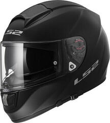 LS2 FF397 Vector Solid Matt Black Carbon