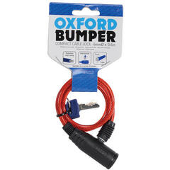 Oxford Bumper Cable Lock 600x6mm Red