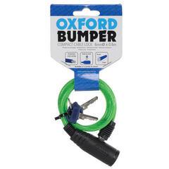 Oxford Bumper Cable Lock 600x6mm Green
