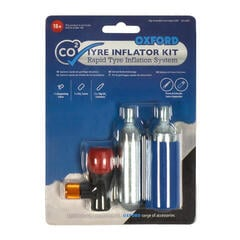Oxford CO2 Tyre Repair 2 Cycle Tyre Kit