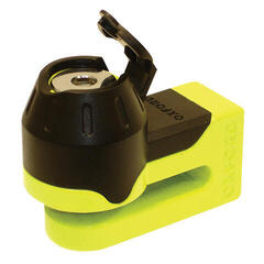 Oxford Mini T Disk Lock Yellow