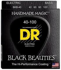 DR Strings EXBK-40 Black Beauties