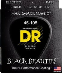 DR Strings EXBK-45 Black Beauties