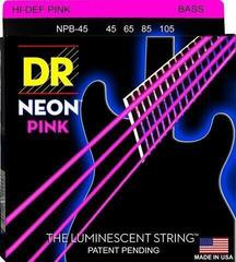 DR Strings DR Neon Bass Pink 45