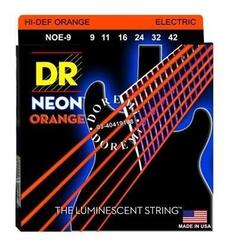 DR Strings DR Neon Orange 9