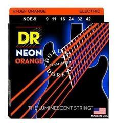 DR Strings DR Neon Orange 9