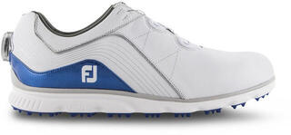 Footjoy Pro SL BOA Mens Golf Shoes White/Blue